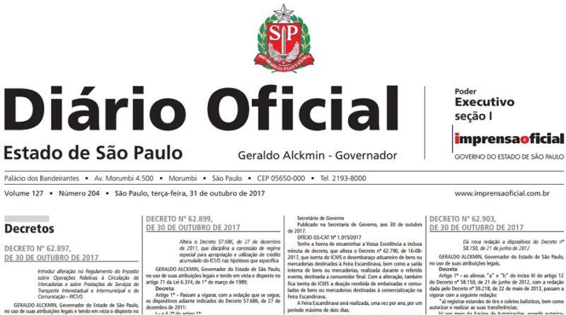 Novo Decreto 62903
